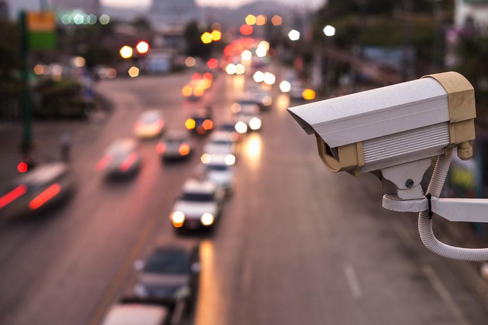 Coloured Security Cameras